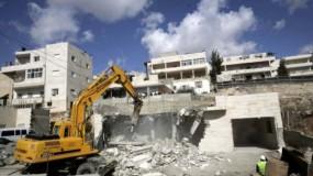 ارتفاع معدل هدم المباني الفلسطينية في العام 2019
