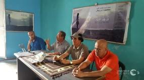 الفنانون فى غزه يشتكون من التهميش