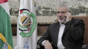 هنية يجري اتصالات مع مسؤولين مصريين حول آخر التطورات في غزة