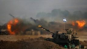 مدفعية الاحتلال تقصف عدة أهداف بقطاع غزة