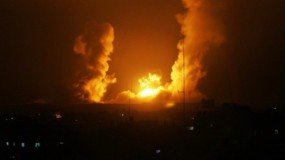 طائرات الاحتلال تستهدف موقعاً عسكرياً وأرضاً زراعية شمال قطاع غزة