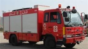 الدفاع المدني يسيطر على حريق اندلع بأرض زراعية شرق البريج