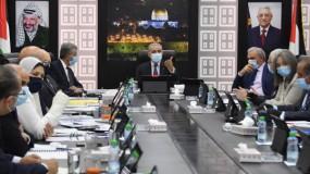 أبرز قرارات مجلس الوزراء الفلسطيني في الجلسة الأسبوعية