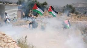 إصابات خلال اندلاع مواجهات مع قوات الاحتلال شرق قلقيلية