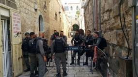 الاحتلال يمنع مؤتمر صحفي ويعتقل 3 مرشحين للانتخابات في القدس المحتلة