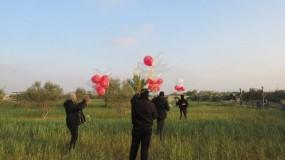 اندلاع خمس حرائق بمستوطنات غلاف غزة بفعل البالونات الحارقة