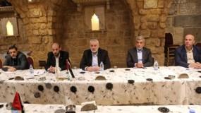 """حماس ترحب بتشكيل """"القيادة الموحّدة للمقاومة الشعبية"""""""