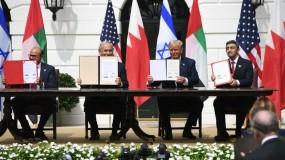 """أبو الغيط: اتفاق الإمارات وإسرائيل أوقف """"خطة الضم"""""""