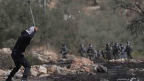 اصابة ٤ شبان برصاص الاحتلال المعدني والعشرات بالاختناق خلال قمع جيش الاحتلال لمسيرة كفر قدوم