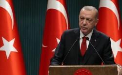 أردوغان: طالما استمر اضطهاد الفلسطينيين فإن السلام الدائم والاستقرار في الشرق الأوسط غير ممكن