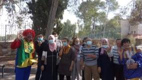 مركز الواحة يشارك بمهرجان البسمة في بيت ساحور