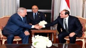 مصر تقيد زيارة نتنياهو إلى القاهرة بإعلانه الالتزام بحل الدولتين
