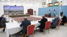 """اللجنة التنفيذية لمنظمة التحرير ترفض تصريحات بينيت وتؤكد على """"حل الدولتين"""""""