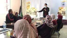 جمعية دير البلح للتنمية المجتمعية والطفولة تعرض فيلم الكوفية