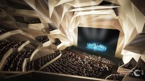 المغرب يفتتح أضخم فضاء مسرحي من تصميم الراحلة زها حديد