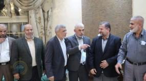 وفد من حركة حماس برئاسة هنية يتوجه للقاهرة غداً لمناقشة هذه الملفات