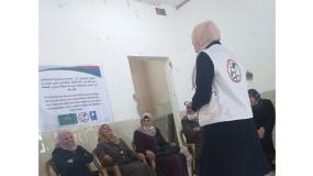 لجان العمل الصحي تنفذ سلسلة من لقاءات التفريغ النفسي لأمهات الأشخاص ذوي الإعاقة