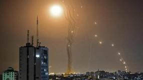 غزة قصف بقصف ومواجهات في القدس والضفة وأراضي الـ48