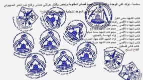 """"""" الأجنحة العسكرية لحركة فتح """" تعلن حالة التعبئة الوطنية والاستنفار العام وتؤكد كل الخيارات مفتوحة للدفاع عن شعبنا"""