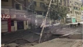بلدية غزة : استهداف قوات الاحتلال للطرق يفاقم الأوضاع الإنسانية ويعيق حركة طواقم الطورائ