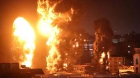 بعد اعلان وقف إطلاق النار.. الاحتلال يهاجم أهدافاً بغزة.. وحماس ترد برشقات صاروخية