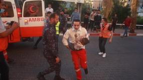 أربعة شهداء وإصابات بعملية إغتيال جبانه بقصف شقة سكنية بشارع الشهداء في غزة من خلال طائرة الكواد كابتر