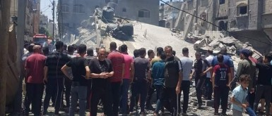 """""""هيومن رايتس ووتش"""" تتهم إسرائيل بارتكاب جرائم حرب خلال """"عدوان مايو"""" على غزة"""