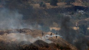 استشهاد مواطن خلال مواجهات مع قوات الاحتلال جنوب نابلس