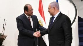لقاء نتنياهو مع رئيس المخابرات المصرية اللواء عباس