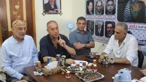 حركة فتح إقليم غرب غزة تستقبل السفير د. حسام زملط