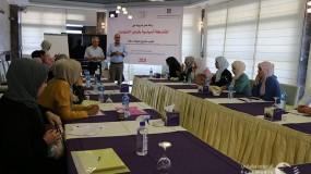 """شبكة المنظمات الأهلية تفتتح ورشة العمل التدريبية الثانية حول """"المشاركة السياسية وقوانين الانتخابات"""""""