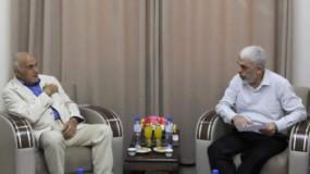 خلال استقباله منيب المصري.. السنوار: جاهزون لاستعادة الوحدة الوطنية بما يخدم المشروع الفلسطيني