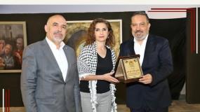 وزارة الثقافة الفلسطينية تكرم الاعلامي زاهي وهبي