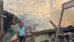 """راصد: بيان المركز الفلسطيني لحقوق الانسان بشأن انفجار """"سوق الزاوية"""" يخدم رواية سلطات الاحتلال"""