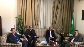 د. ابو هولي يلتقي الامين العام المساعد لجامعة الدول العربية د. ابو علي ويناقشان مستجدات الأزمة المالية للأونروا واوضاع اللاجئين الفلسطينيين