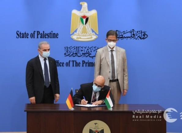 ألمانيا تقرر دعم لحكومة الفلسطينية بنحو 100 مليون يورو لتمويل مشاريع بغزة والضفة والقدس