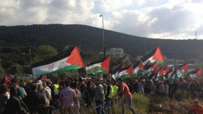 إصابات خلال مواجهات مع الاحتلال بالضفة الغربية