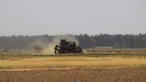 جرافات جيش الاحتلال تتوغل شرق رفح
