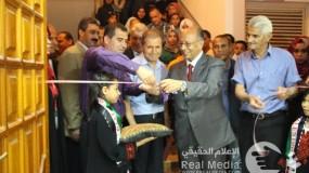انطلاق فعاليات مهرجان غزة الثاني للفن التشكيلي المعاصر