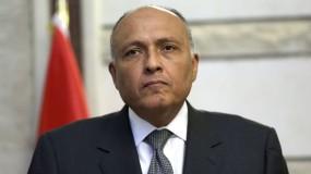 سامح شكري: مصر لن تدخر جهداً في التوصل لوقف إطلاق نار