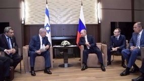 في اتصال هاتفي... بوتين ونتنياهو يبحثان التسوية السورية