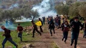 إصابات خلال قمع جيش الاحتلال الإسرائيلي لمسيرة كفر قدوم