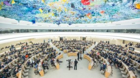 مجلس حقوق الانسان يصوت على قرار تشكيل لجنة تحقيق دولية في جرائم الاحتلال الإسرائيلي
