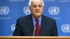 منصور يدعو لتحميل الاحتلال الإسرائيلي المسؤولية عن جرائمه بحق الشعب الفلسطيني ومقدراته